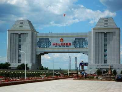 在中俄边境隐藏的5A级景区 满洲里国门