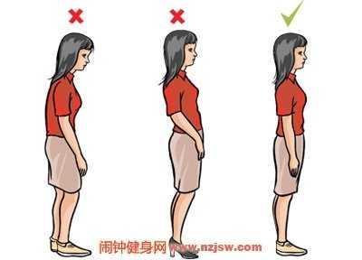 站立的时候收腹就能看上去更挺拔 站立收腹运动
