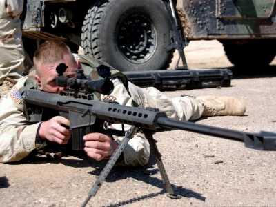 大炮巴雷特因笨重将被逼退役 大炮狙击枪