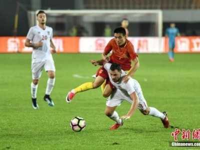 国足世界排名下滑3位至第60位 国家队世界排名