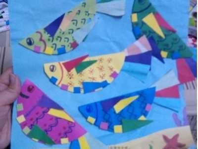 儿童手工剪纸小鱼的方法- 儿童剪纸鱼图案