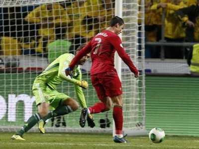 附加赛次回合 葡萄牙vs瑞典次回合
