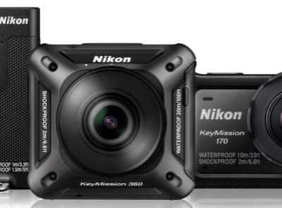 深挖虚拟现实与运动相机市场 nikon运动相机