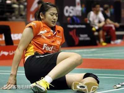 羽球赛场10大最悲剧受伤 羽毛球女运动员受伤