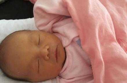 结果翻盘生了女宝 孕十三周b超图