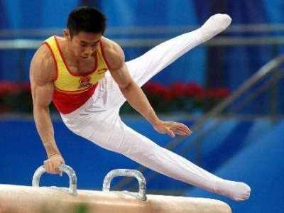 体操全锦赛邹敬园鞍马摘金 体操运动员邹敬园