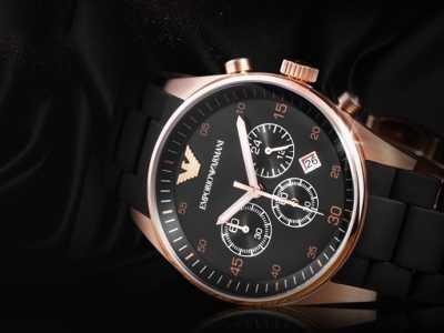 阿玛尼AR590516AW男表 阿玛尼女士运动手表