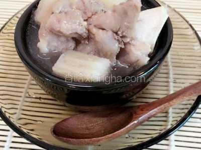 粉葛骨头汤的做法 粉葛的做法