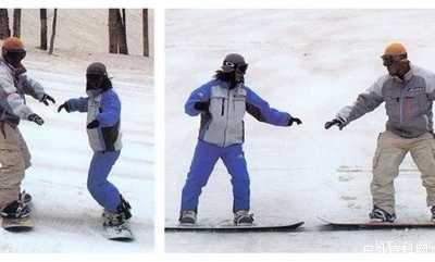 单板滑雪技术入门完全攻略 滑雪教程