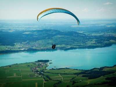 武汉一定不能错过的滑翔伞体验 武汉花山航空运动基地