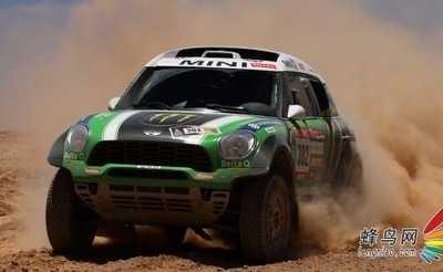 MINI恭贺X-raid车队和彼得 2012达喀尔拉力赛