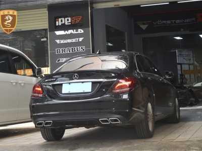 快速安装奔驰C级改AMG包围套件 奔驰c运动套件有哪些